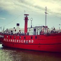 10/22/2013 tarihinde Sansuda P.ziyaretçi tarafından Lightship Relandersgrund'de çekilen fotoğraf