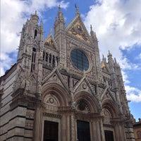 Photo taken at Duomo di Siena by Alex B. on 11/1/2012