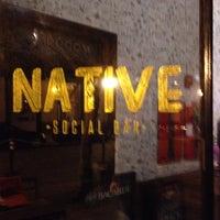 Foto tomada en Native Social Bar por Luc D. el 1/31/2014