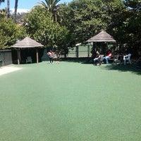 Photo taken at Dog Park by Aminda C. on 6/16/2014