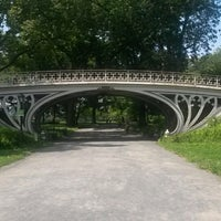 Photo taken at Central Park - Gothic Bridge by Jim T. on 7/20/2014