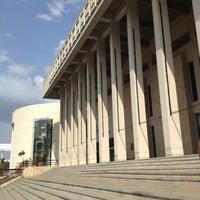 Photo taken at Biblioteca Departamental Jorge Garcés Borrero by Andrea R. on 1/23/2013