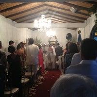 Photo taken at Hacienda Vivero Las Mañanitas by Andrea R. on 12/15/2012