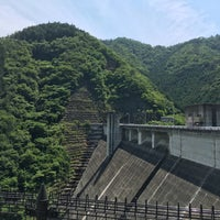 Photo taken at 松田川ダム by 竹林 on 6/11/2017