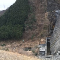 Photo taken at 松田川ダム by 竹林 on 2/18/2017