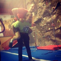 Photo taken at Randolph Climbing Center by Colleen Q. on 5/1/2013