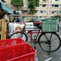 Photo taken at Heung Che Street Market 香車街街市 by Leirda on 4/4/2017