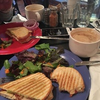 Photo taken at Rockn' Joe Coffeehouse & Bistro by Mari Y. on 1/8/2017