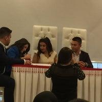 Photo taken at Kadirli Belediyesi Nikah Salonu by Hatice A. on 11/25/2016