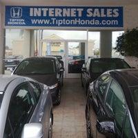 Photo taken at Tipton Honda by Tipton Honda on 7/9/2015