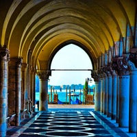 Photo taken at Doge's Palace by Aggelos T. on 11/27/2012