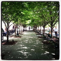 Photo taken at Jamison Square Park by Randy T. on 7/9/2013