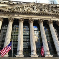 Photo taken at New York Stock Exchange by Victor A. on 3/4/2013