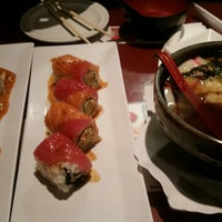 Photo taken at Mo Mo Sushi by Anna R. on 11/30/2015