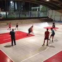 Photo taken at Estadio BasketBall C.P. Roser by Ramon M. on 11/15/2013