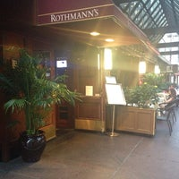 Photo taken at Rothmann's Steakhouse by Donfico on 6/18/2013