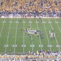 Photo taken at Tiger Stadium by Bryan C. on 10/14/2012