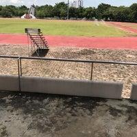 Photo taken at Main Stadium by itimm🍦 on 8/10/2017