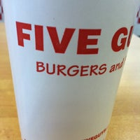 Photo taken at Five Guys by Scott D. on 2/2/2013