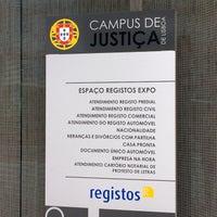 Photo taken at IRN - Campus Da Justiça by Katia C. on 3/7/2016