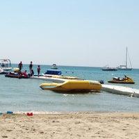 Photo taken at Fun Beach Club by Selen İ. on 8/30/2013