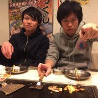Photo taken at やけるやんか 千房 by bobu on 12/27/2015
