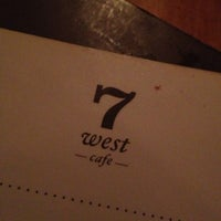 Photo taken at 7 West Cafe by Ankush D. on 3/15/2013