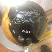 Photo taken at Brunswick Zone Cal Oaks Bowl by Casey R. on 3/5/2014