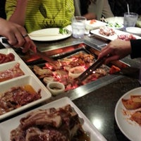 Photo taken at Oz Korean BBQ by Cheryl S. on 12/24/2012