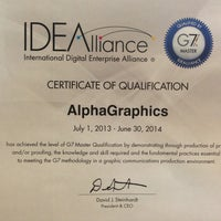Photo taken at Alphagraphics Seattle by Mark B. on 8/7/2013