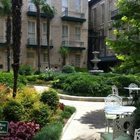 Photo taken at The Menger Hotel by Tiffany E. on 5/27/2012
