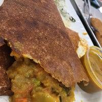 Photo taken at Ananda Bhavan Restaurant by Mariana C. on 10/29/2017