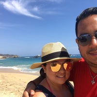 Photo taken at Playa Mazunte by Lucio C. on 3/17/2018