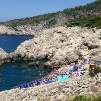 Photo taken at Faro di Punta Carena by RODOLFO M. on 7/28/2013