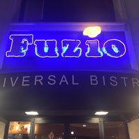 Photo taken at Fuzio Universal Bistro by Gingi V. on 9/12/2015