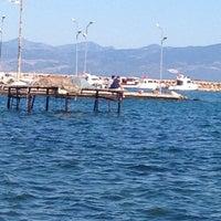Photo taken at Sarıkız Sahil Plajı by Hakan b. on 6/24/2014