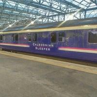 Photo taken at Caledonian Sleeper from Glasgow (GLC) to Euston (EUS) Train by Erik W. on 5/15/2016