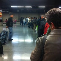 Photo taken at Estación Intermodal La Cisterna by Claudio Q. on 8/17/2013