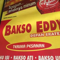 Photo taken at Bakso Eddy by Heri A. on 9/4/2016