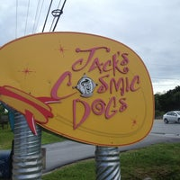 Photo taken at Jack's Cosmic Dogs by angularism on 7/3/2013