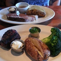 Photo taken at Wood Ranch BBQ & Grill by Bane on 5/4/2013