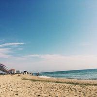 Photo taken at Пляж by Виктория Л. on 8/30/2016