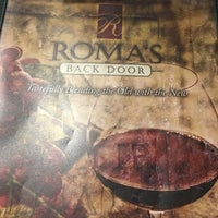 Photo taken at Roma's Back Door by Randy W. on 12/31/2016