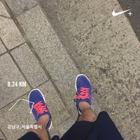 Photo taken at 학동사거리 by INSS _. on 9/11/2016