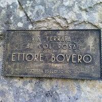 """Photo taken at Via Ferrata Ettore Bovero by Antonio """"Butch"""" on 8/5/2013"""