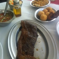 Photo taken at Churrascaria Coqueiro Verde by Denison B. on 2/14/2013
