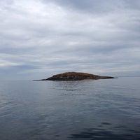Photo taken at Ile de Méaban by Seb G. on 8/16/2013