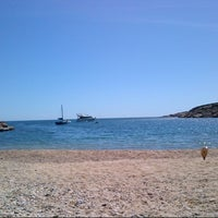 Photo taken at Tamariu by Miquel P. on 4/13/2013