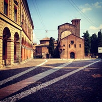 Photo taken at Piazza Santo Stefano by il_ n. on 7/28/2013