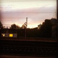 Photo taken at Gleis 6 by Nikolai O. on 5/21/2013
